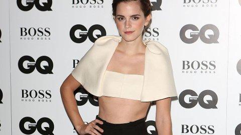 STILIG: Emma Watson på GQ Awards.