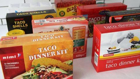 IKKE ALLTID DE mest kjente merkene som er best, viser Klikks test av taco.