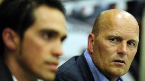 FYLLER OPP: Bjarne Riis henter inn flere hjelpere til Alberto Contador.Tre nye navn presentert i troppen for 2013.