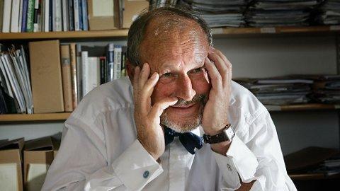 PER FUGELLI er professor i sosialmedisin og en talsmann for litt mer matro - landet over, som han sier.
