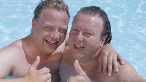 Gunnar Berge og Svein Østvik fant tonen i «Charterfeber».