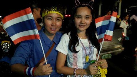Demonstrasjon Bangkok 251113