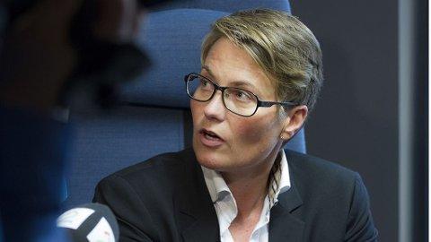 GJØRE MER: - Storbyene kan gjøre mer, også med eksisterende regelverk, men staten vil også bidra, sier klima- og miljøvernminister Tine Sundtoft (H).