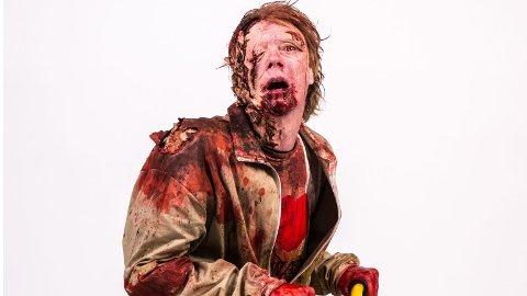SYMPATISK: Dette er verdens snilleste - og mest uheldige - zombie.