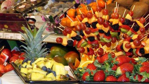 FRISTENDE: Fruktdisken på Meny Røa er kåret til Norges beste.