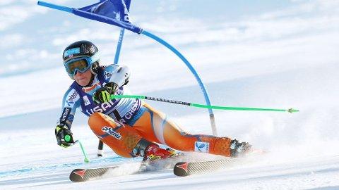 BESTE NORSKE: Lotte Smiseth Sejersted ble beste norske på dagens super-G.