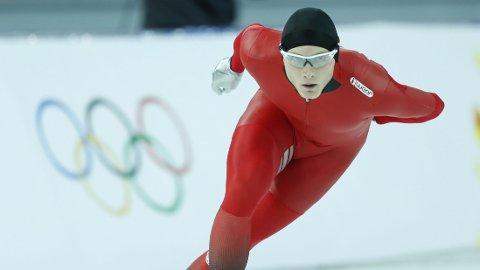 INGEN MEDALJE: Håvard Bøkko måtte ta til takke med en sjetteplass på lørdagens 1500-meter i OL.