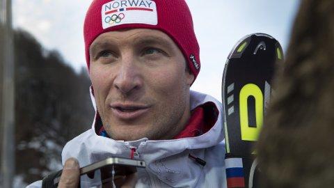 FORLATER RUSSLAND: OL er over for Aksel Lund Svindal.