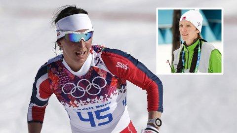 KRITISK: Bente Skari mener Marit Bjørgen burde blitt vraket til sprintstafetten OL.