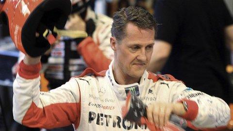 LIGGER I KUNSTIG KOMA: Michael Schumacher ligger fortsatt i koma etter hodeskadene han pådro seg i romjulen.