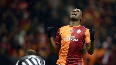 I GALATASARAY: Didier Drogba spiller for tiden i Tyrkia, men har fortsatt en stor stjerne i Chelsea.