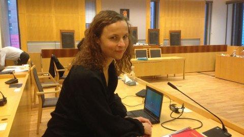 BISTANDSADVOKAT: Cathrine Grøndal er bistandsadvokat for kvinnen som fikk deler av sitt mest intime privatliv offentliggjort på internett.