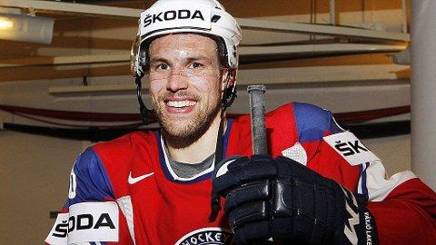 BLE MATCHVINNER: Jonas Holøs er tilbake i KHL etter OL.