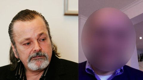 - HADDE KONTAKT: Forsvareren til den 47 år gamle narkotikasiktede (til høyre) forteller at politimannen Eirik Jensen (til venstre) og hans klient hadde kontakt.