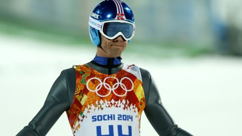 SKUFFET: Anders Bardal lå på 4. plass etter førsteomgang, men falt ned på en 9. plass til slutt.