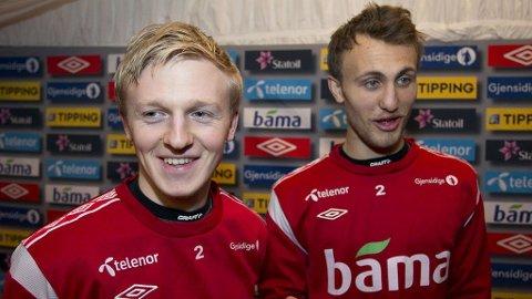 LAGKOMPISER: Mats Møller Dæhli og Magnus Wolf Eikrem spiller både for landslaget og Cardiff.