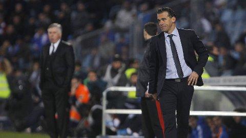 FERDIG I GETAFE: Luis Garcia har fått sparken fra trenerjobben i madridklubben.