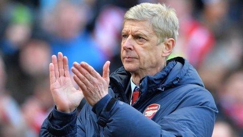 MANAGER-STØTTE: Arséne Wenger gir sin støtte til Tim Sherwood.