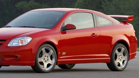 Chevrolet Cabalt er blant modellene som er berørt av en feil i tenningslåsen, som kan hindre at airbagene utløses i en ulykke. General Motors (GM) har visst om feilen siden 2001 - men ikke kalt tilbake bilene før over 10 år senere. På den tiden kan så mange som 303 personer har mistet livet som resultat av feilen ...