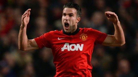MIDTPUNKT: Så glad blir man av å score mål for Manchester United om dagen.