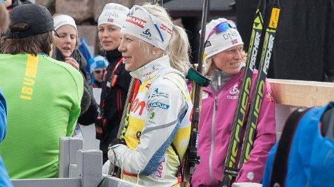 TAPTE DUELLEN: Tora Berger måtte se seg slått av Kaisa Mäkäräinen i verdenscupen sammenlagt.