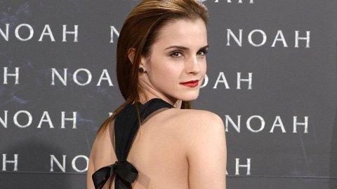 Emma Watson på Noah-premieren i Berlin.