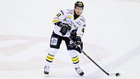 SCORET: Dennis Løvold Sveum brukte kun 30 sekunder på å score mot Lillehammer onsdag kveld. Foto: Vegard Grøtt / NTB scanpix
