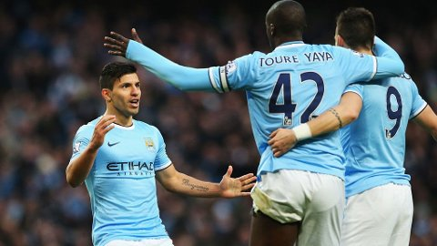 KLAR TIL SKJEBNEKAMPEN: Manchester City fikk særdeles gode skadenyheter fredag.