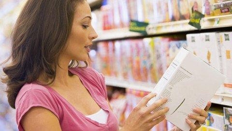DU LESER HVA SOM STÅR PÅ PAKNINGEN: Men vet du hvor mye «én porsjon» egentlig er?