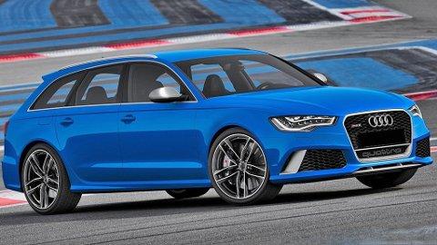 Audi flyter virkelig på en medgangsbølge om dagen - og har aldri solgt flere biler enn de gjorde i mars. Dette er for øvrig den heftige stasjonsvognen RS6 Avant.