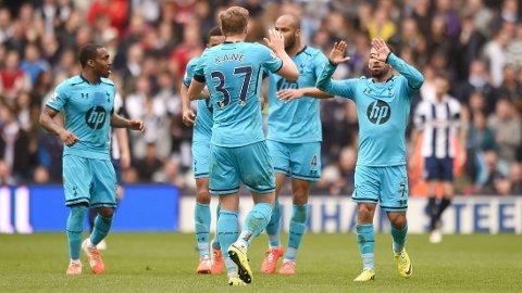 KOM TILBAKE: Tottenham snudde 3-0 til 3-3 på The Hawthorns.