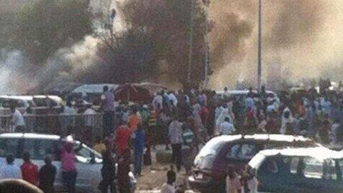 Nigeria bombe