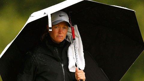 TILBAKE ETTER RYGGTRØBBELET: Suzann Pettersen endte på 28.-plass i sin første turnering etter ryggskaden.