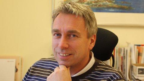 BLÅ KORS: Jan Elverum er generalsekretær i organisasjonen Blå Kors som driver med avholdsarbeid og behandling av rusavhengighet.