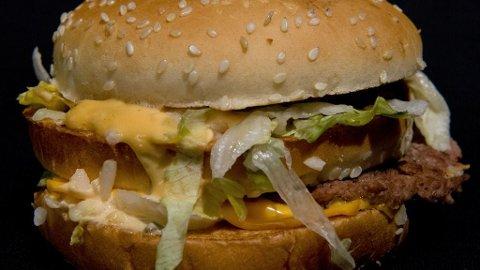Det ble ingen feit plassering for burgerkjempen.