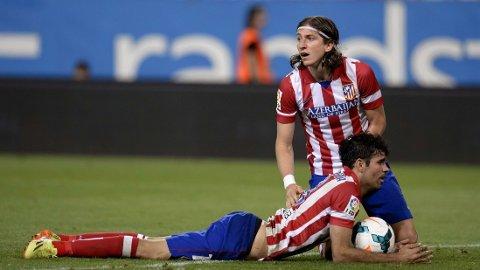 - ØNSKET AV CHELSEA: The Telegraph skriver at Chelsea nærmer seg en avtale om overgang for Filipe Luis og Diego Costa.