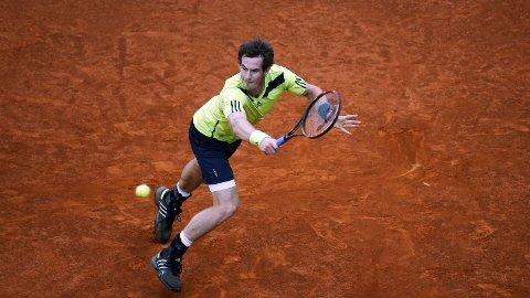 TILBAKE: Andy Murray.