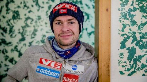 KANSKJE SLUTT: Skihoppkarrieren til Anders Jacobsen kan være over.