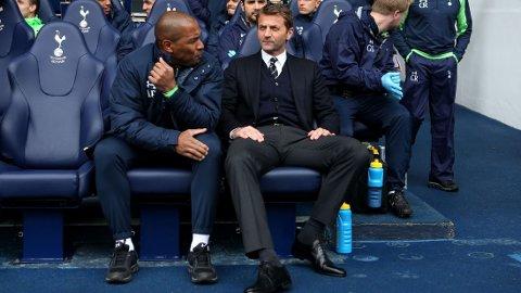 KLAR TALE: Tim Sherwood mener han bør få fortsette som Tottenham-manager.