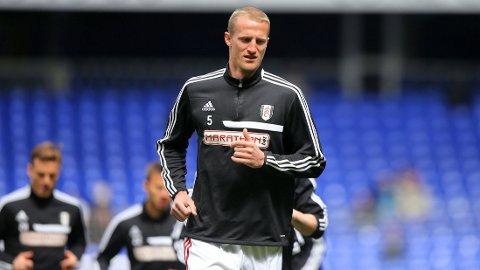 SKUFFET: Brede Hangeland er fortsatt svært skuffet over at Fulham rykket ned fra Premier League.