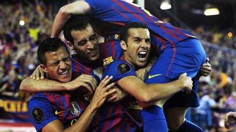 TIL ENGLAND: Pedro Rodriguez skal være en mann Liverpool vurderer.