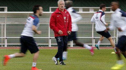 VERDENSMESTER: Didier Deschamps ble verdensmester som spiller for Frankrike i 1998. Klarer han det samme som trener?