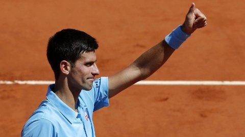 FINALEKLAR: Novak Djokovic.