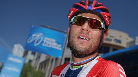 DELTAR IKKE: Thor Hushovd deltar ikke i Tour de France.