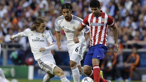 PÅ SAMME LAG: Luka Modric og Diego Costa kan ende opp i samme klubb.