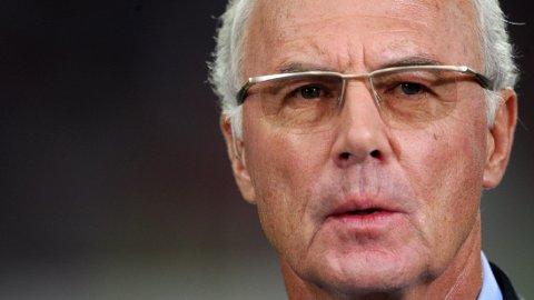 UTESTENGT: Franz Beckenbauer er ikke populær hos FIFA etter at han skal ha nektet å samarbeide med forbundets etiske komité.