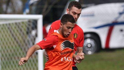 UNGE: Eden Hazard og Belgia forventes å gjøre det bra i VM, til tross for sine unge spillere.