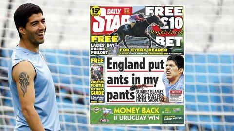 MAUR I BUKSENE? Luis Suarez & co. skal ha fått uventet besøk i Brasil.