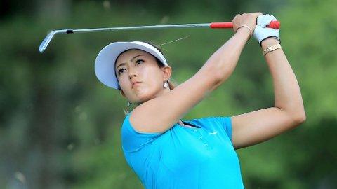 Ti år etter at hun som barnestjerne spilte turneringer på mennenes PGA-tour kunne Michelle Wie juble for sin første majortittel i golf.