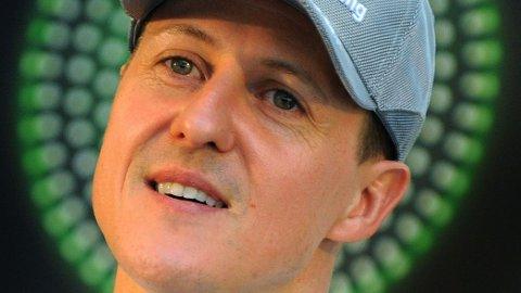 UTE AV KOMA: Michael Schumacher er ute av koma.
